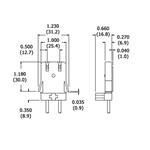 LH0106-BLK dimensions