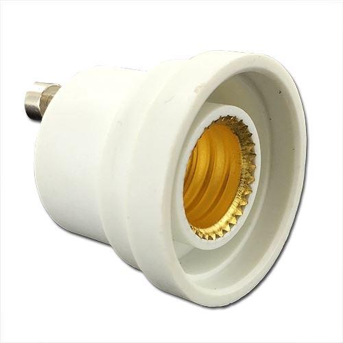 Gu10 Base Socket To An E12 Candelabra