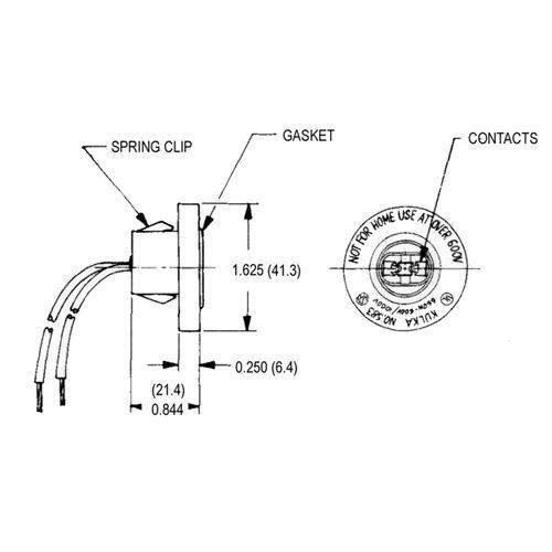 LH0133 Dimensional Drawing
