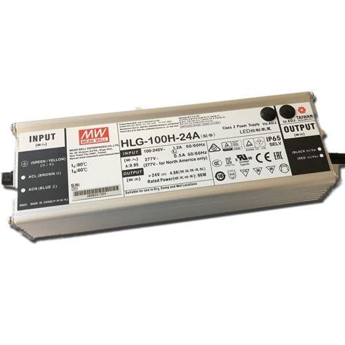 HLG-100H-42A, adjustable, 100w, 42v constant volta