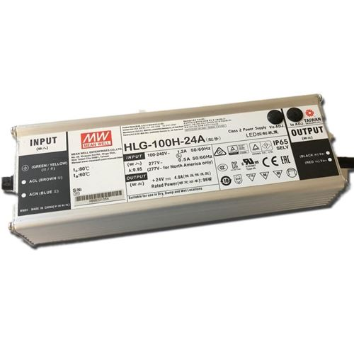 HLG-100H-20A, adjustable, 100w, 20v constant volta