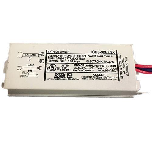 Inter-Global IG25-32ELSX - 1-F25T8 - 1-26w 4-pin C