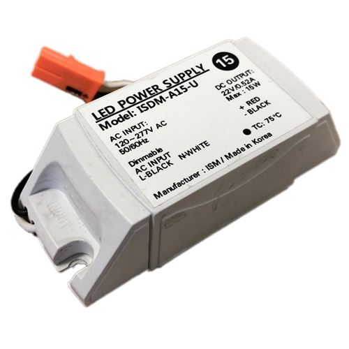 ISM ISDM-A15-U - 15w - 520ma - dimmable - constant