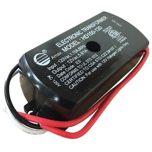Amax HD150-120 - 150w - 120Vac input - 12Vac outpu