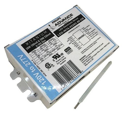 Advance LEDINTA0520C80D 520ma Constant Current 40w