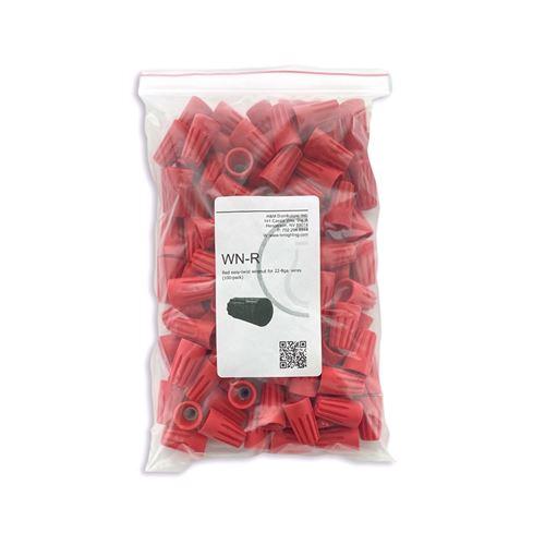 100pk Red Wirenuts
