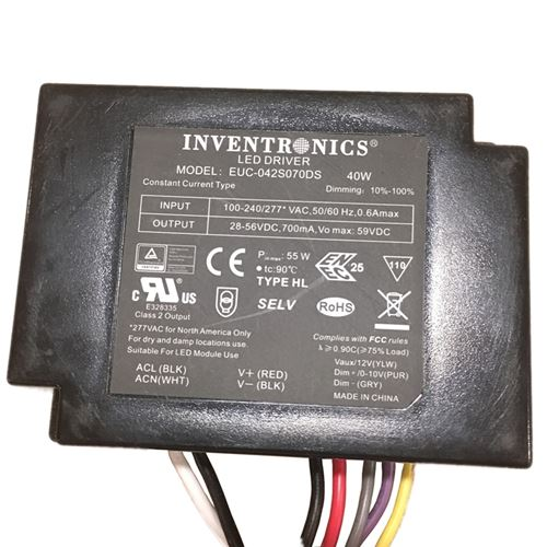 INVENTRONICS 40W DIMMABLE DRIVER DOWNLOAD